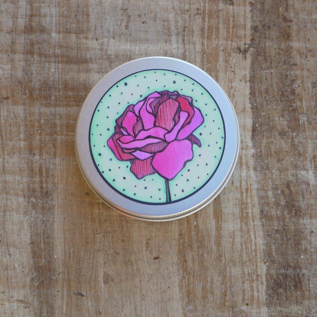 Přenoska na tuhé šampóny a mýdla – růže