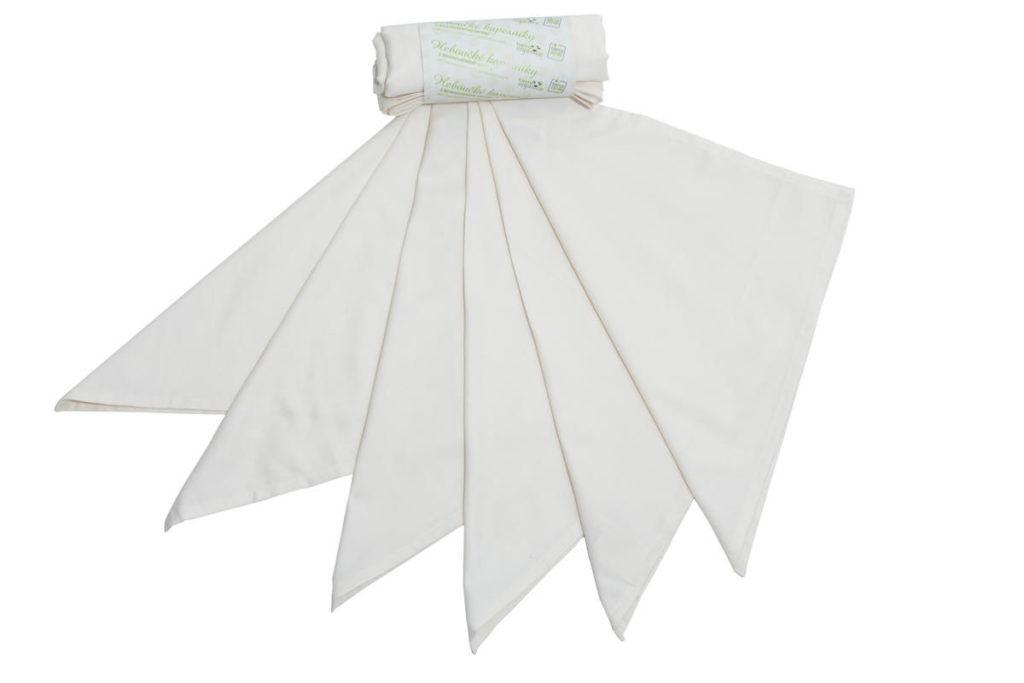 Kapesníky pánské – 100% BIO bavlna, natural