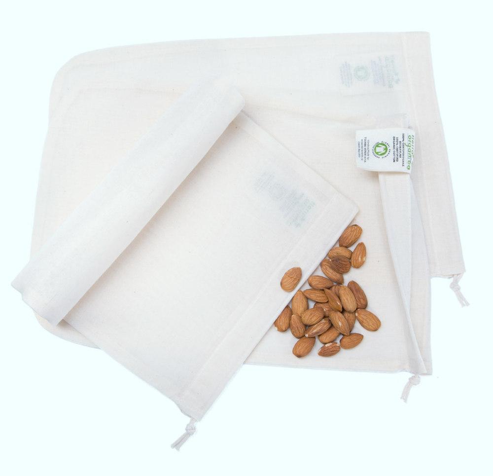 Sáček na výrobu rostlinného mléka - 100% BIO bavlna