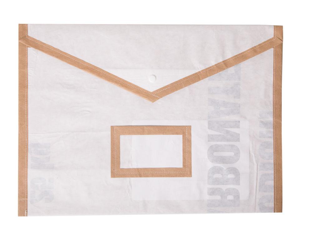 Papírová složka na dokumenty A4 - bílá